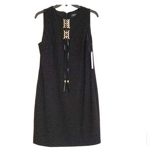 Beautiful Tahari lace up dress